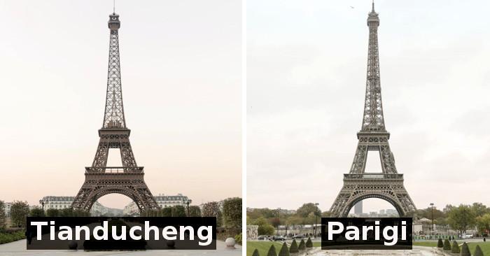 Sembra la torre eiffel invece una parigi made in china for Arredamento made in china