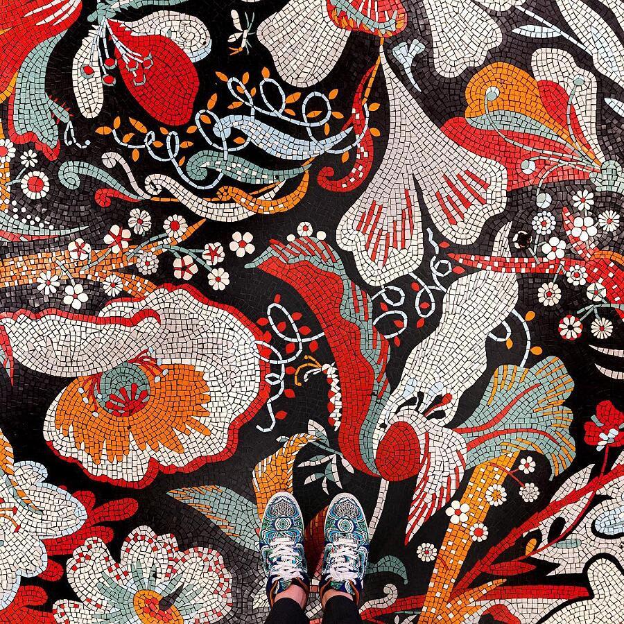 Pavimenti In Mosaico E Piastrelle Parisian Floors Foto Di Sebastian Erras