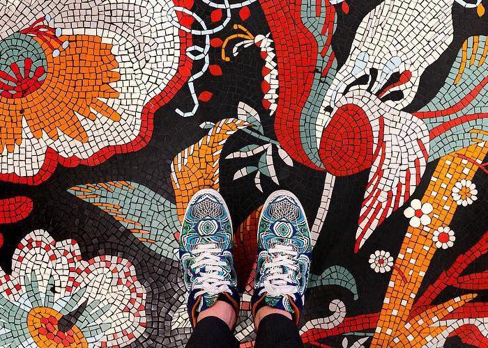Nuovi affascinanti pavimenti in mosaico e piastrelle fotografati da Sebastian Erras