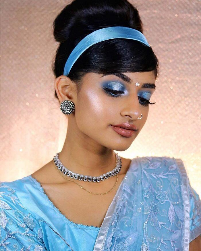 Principesse Disney Look Orientale Make Up Di Hamel Patel Cenerentola