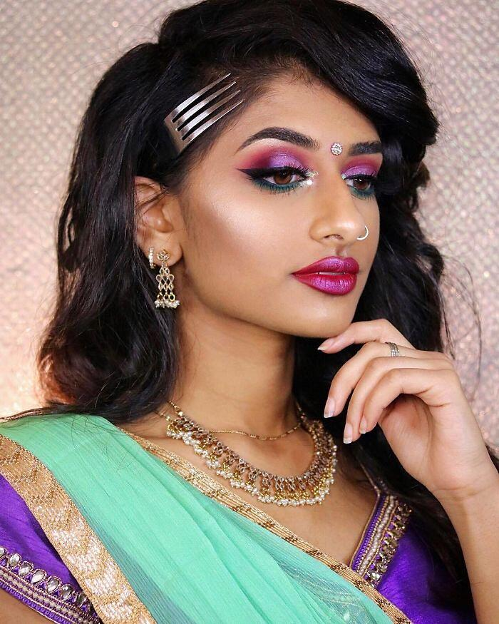 Principesse Disney Look Orientale Make Up Di Hamel Patel Ariel