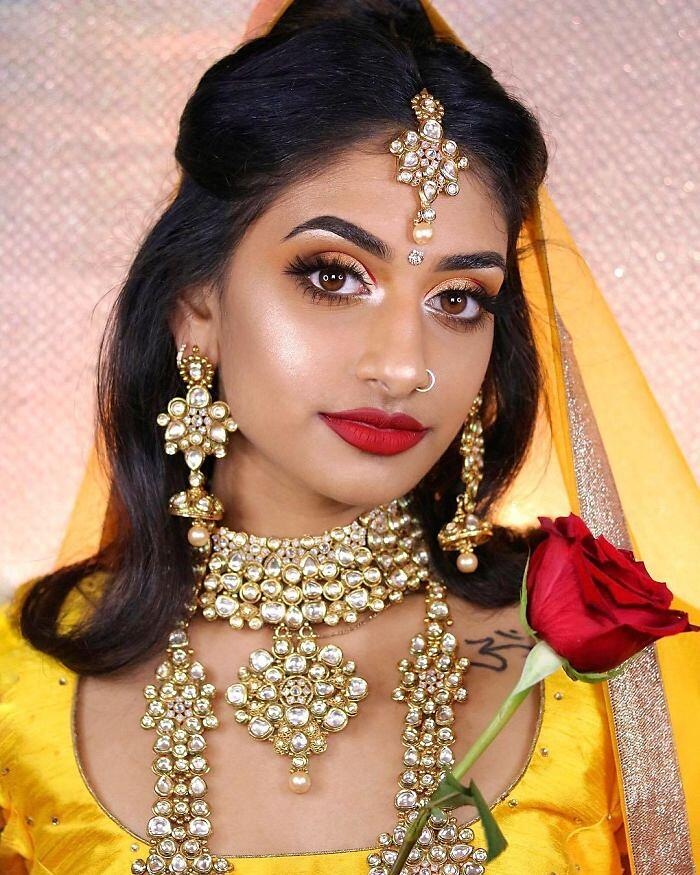 Principesse Disney Look Orientale Make Up Di Hamel Patel Belle