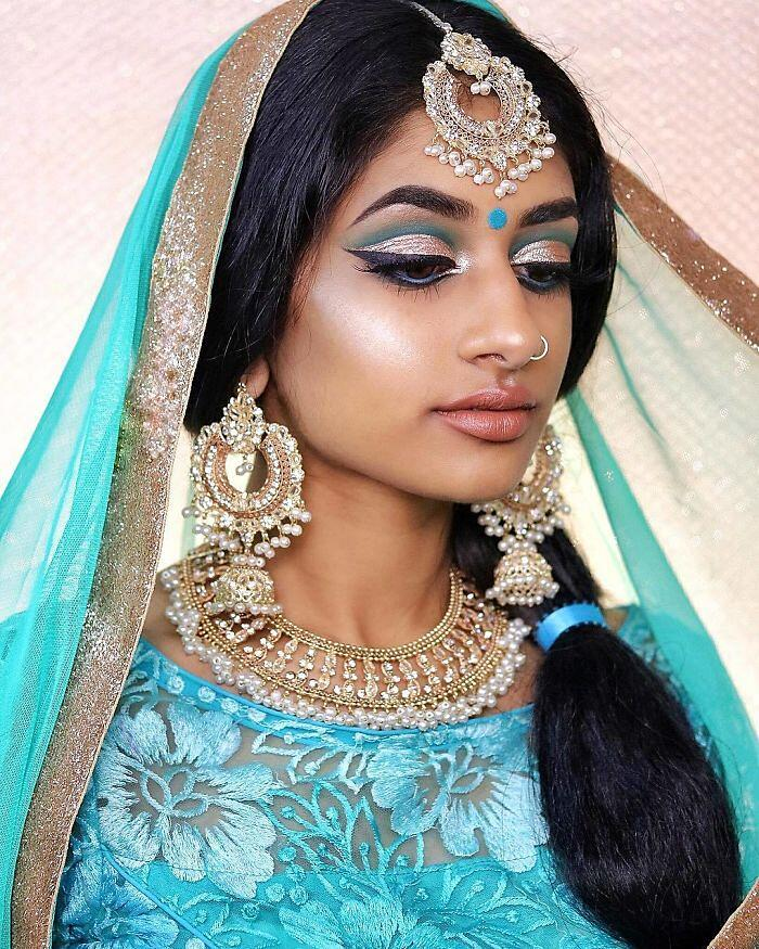 Principesse Disney Look Orientale Make Up Di Hamel Patel Jasmine