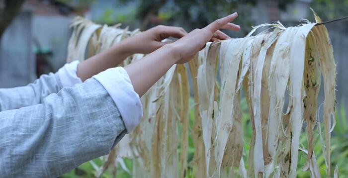 Come Si Produce La Carta A Mano Li Ziqi
