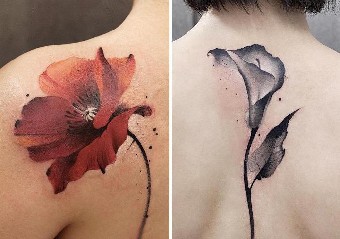 Tatuaggi trasformano l'antica tradizione cinese in spruzzi di inchiostro sulla pelle