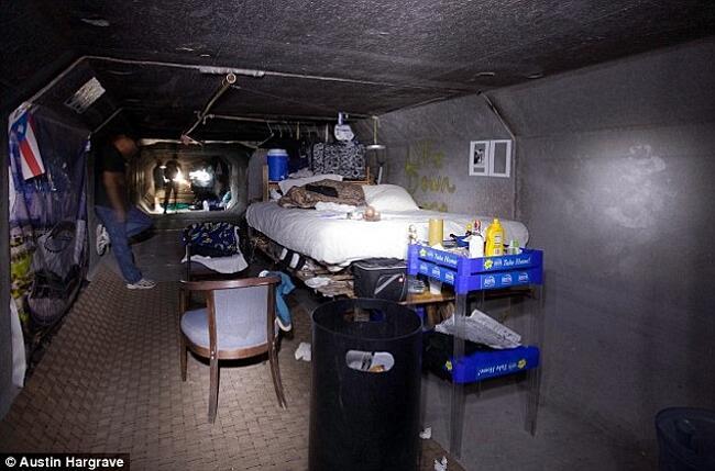 Persone Che Vivono Nei Tunnel Sotterranei Di Las Vegas