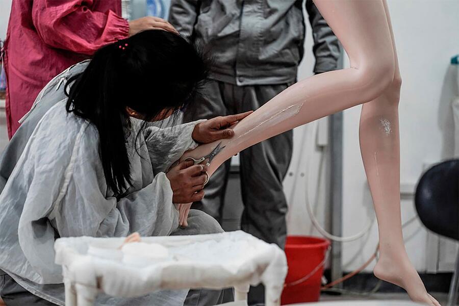 Fabbrica Cinese Di Sex Dolls Exdoll