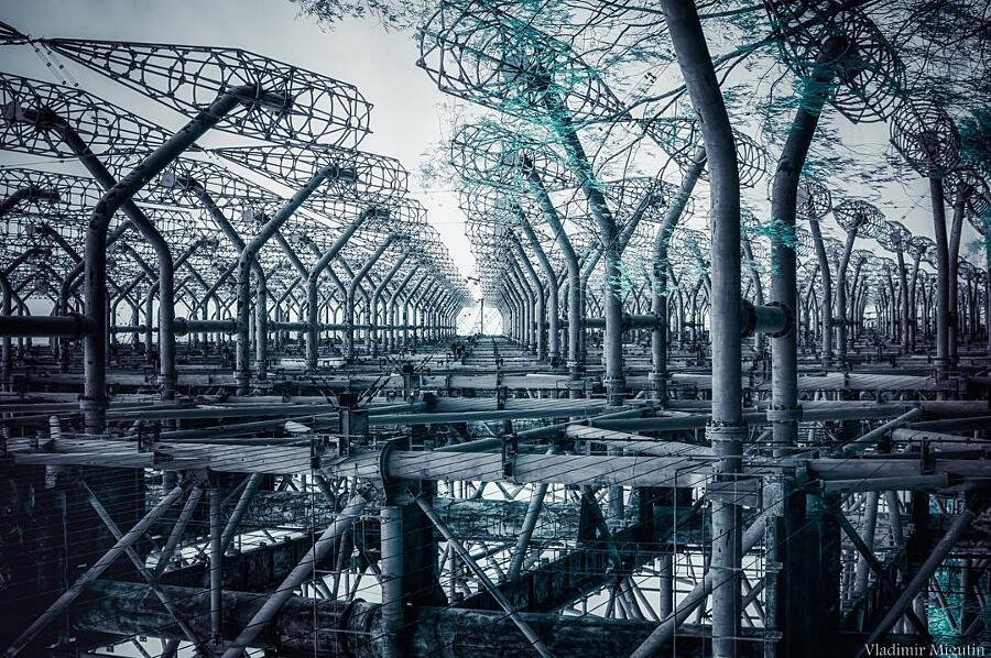 Foto Chernobyl Ad Infrarossi Di Vladimir Migutin