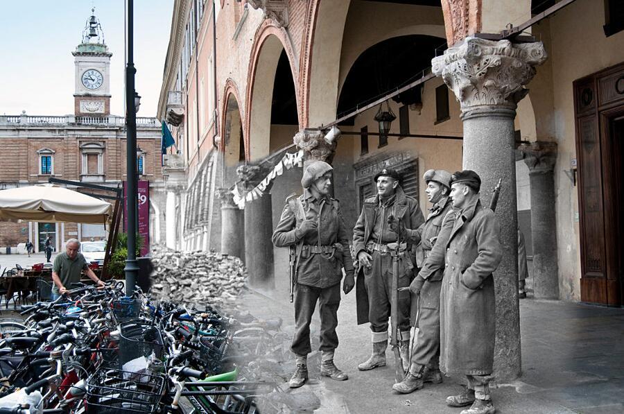 Liberazione Ravenna Soldati Alleati Claudio Notturni