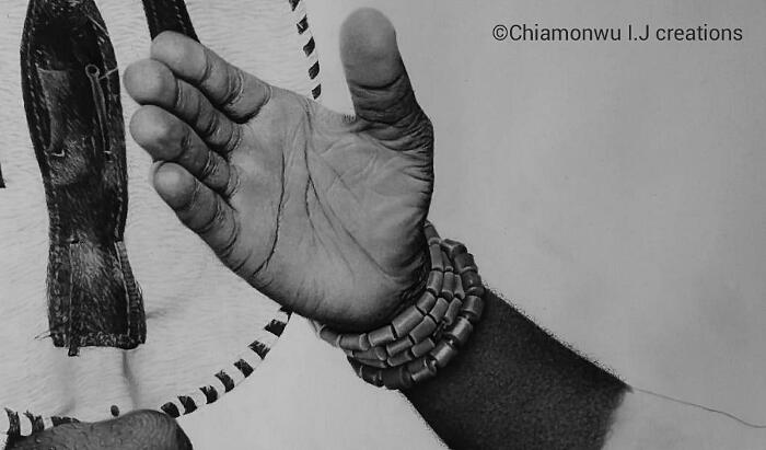 Disegni Iperrealisti A Carboncino Chiamonwu Joy