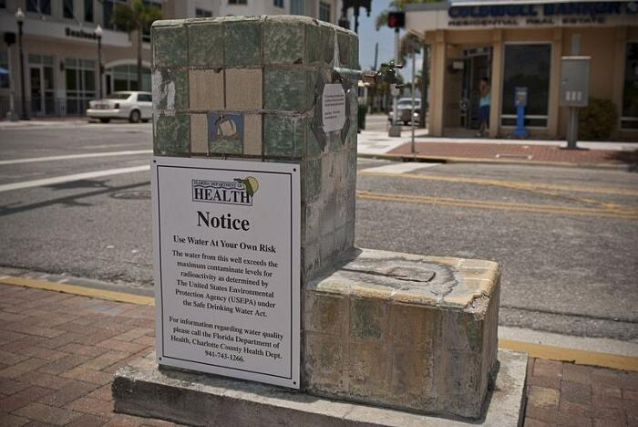 Fontana Della Giovinezza Radioattiva Punta Gorda Florida