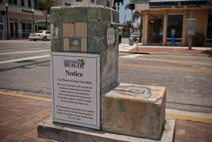 La fontana della giovinezza si trova in Florida ed è radioattiva