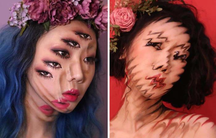 Le nuove disorientanti illusioni ottiche di Dain Yoon