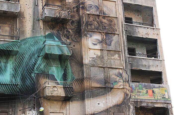 Street Art Beirut Jorge Rodriguez Gerada Bad Libano