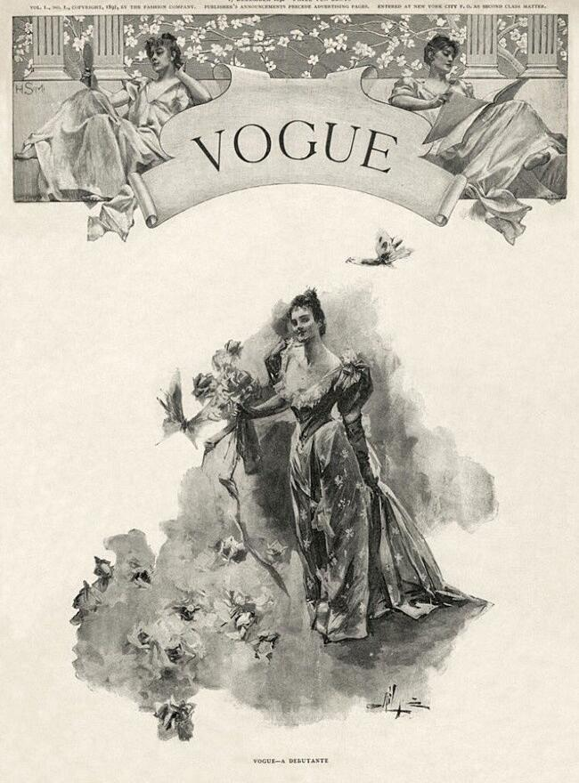 Come Era La Prima Copertina Di Vogue