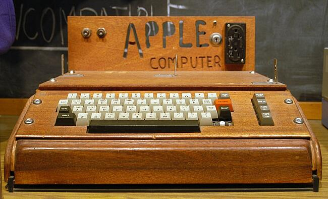 Come Era Il Primo Computer Apple