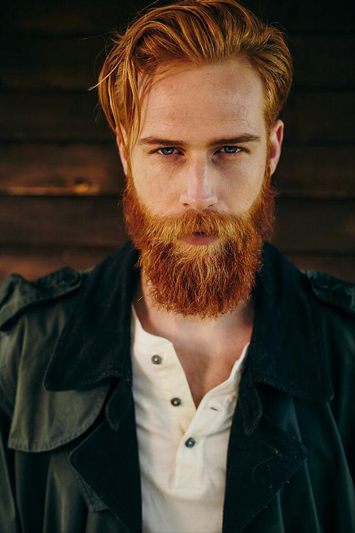 Si Fa Crescere La Barba E Diventa Modello Gwilym Pugh