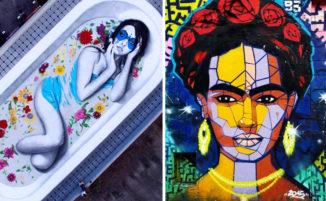 25 straordinarie opere di street art assolutamente da vedere