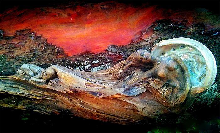 Sculture Surreali In Legno Debra Bernier