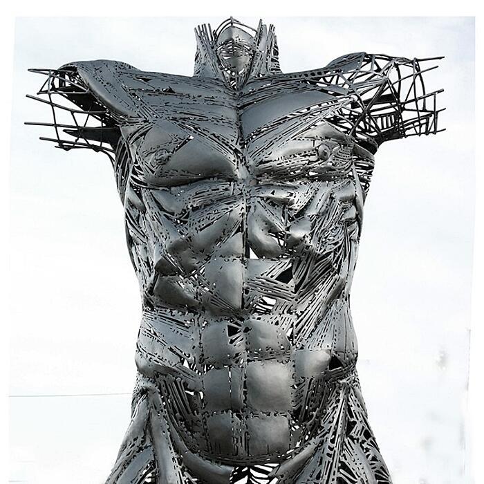 Sculture Figurative Di Metallo Jordi Díez Fernández