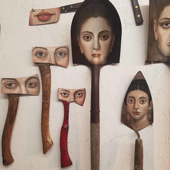 Vecchi Oggetti Diventano Opere D'Arte Alexandra Dillon