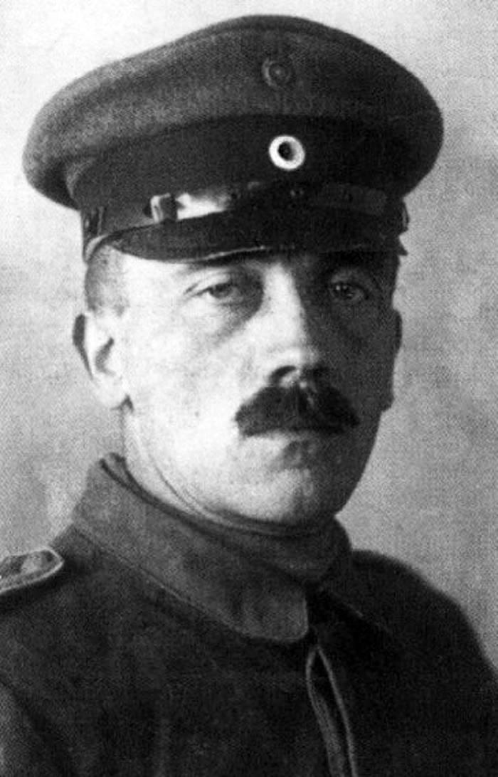 Adolf Hitler durante la Prima Guerra Mondiale