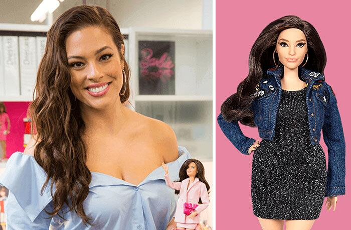 Barbie Ispirate A Donne Vere Serie Shero Mattel Ashley Graham