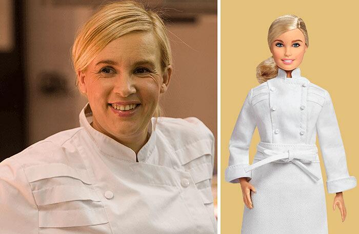 Barbie Ispirate A Donne Vere Serie Shero Mattel Hélène Darroze