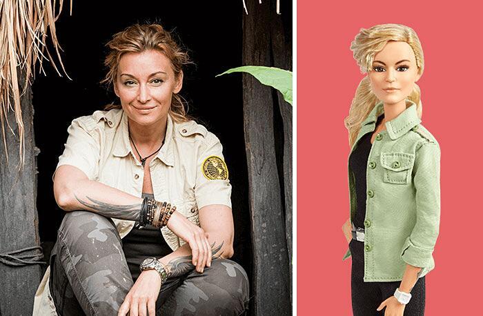 Barbie Ispirate A Donne Vere Serie Shero Mattel Martyna Wojciechowska
