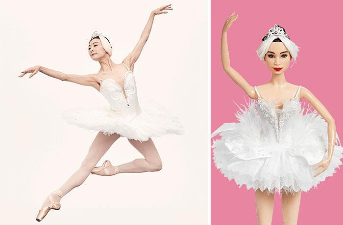 Barbie Ispirate A Donne Vere Serie Shero Mattel Yuan Yuan Tan