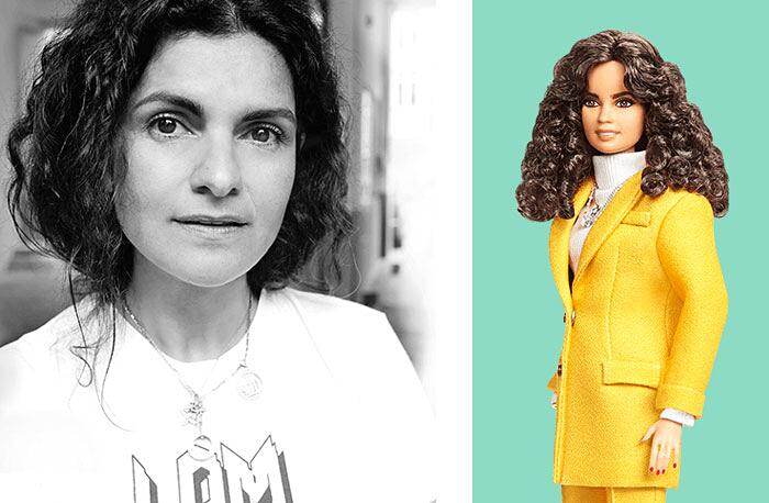 Barbie Ispirate A Donne Vere Serie Shero Mattel Leyla Piedayesh