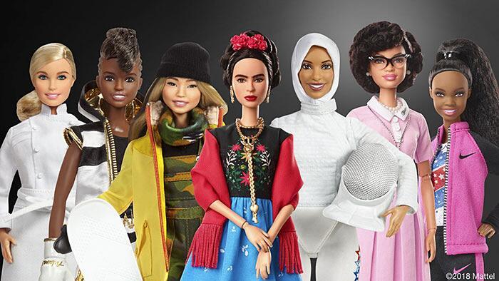 Barbie Ispirate A Donne Vere Serie Shero Mattel