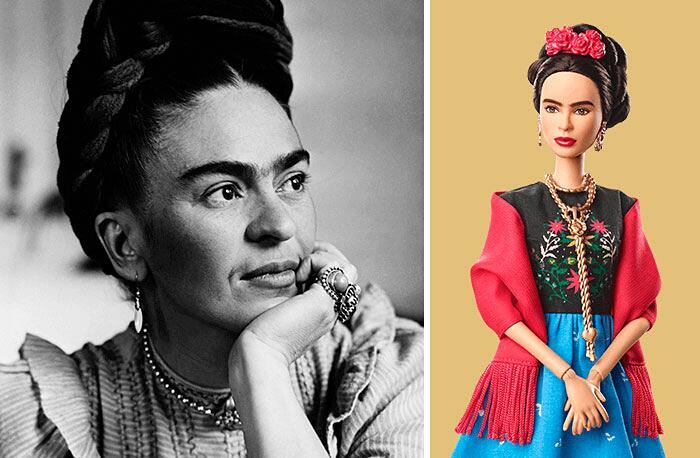 Barbie Ispirate A Donne Vere Serie Shero Mattel Frida Kahlo