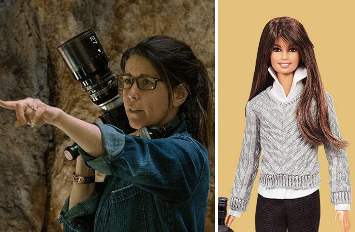 Barbie Ispirate A Donne Vere Serie Shero Mattel Patty Jenkins