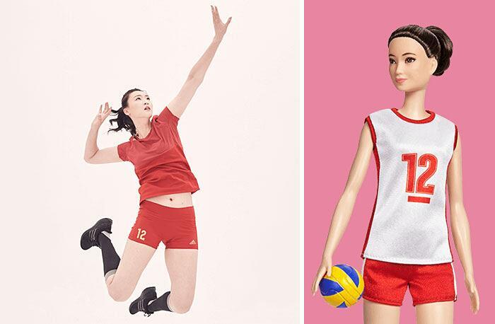Barbie Ispirate A Donne Vere Serie Shero Mattel Hui Ruoqi