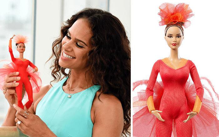 Barbie Ispirate A Donne Vere Serie Shero Mattel Misty Copeland