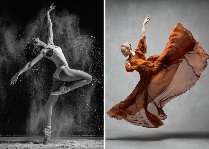 15 fotografi rendono omaggio alla bellezza dei ballerini