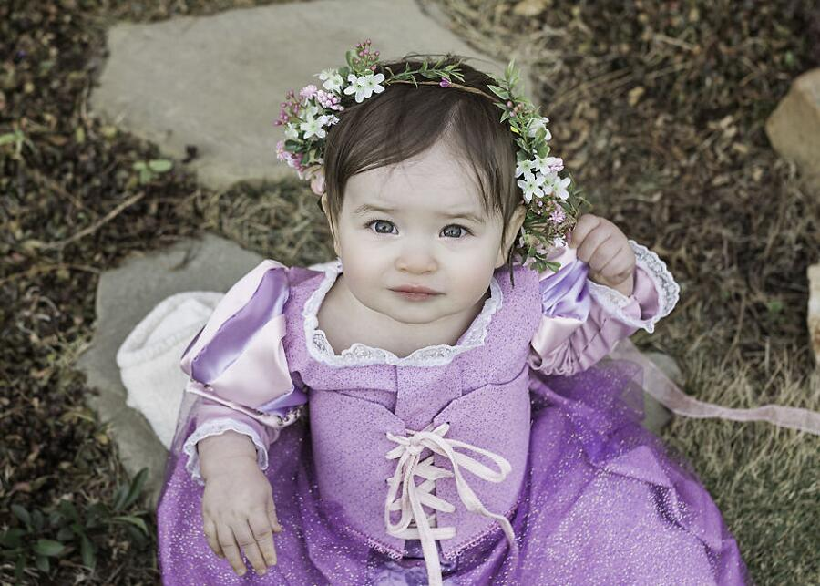 Bambina Vestita Da Principessa Disney Makana Photography