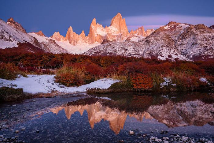 Bellissime foto mostrano i colori spettacolari della Patagonia