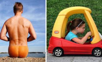 23 divertenti combinazioni fotografiche davvero ingegnose