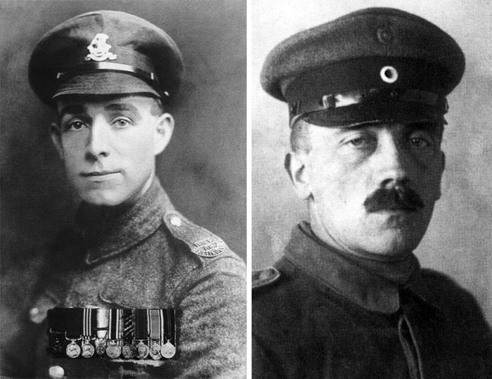 Henry Tandey e Adolf Hitler