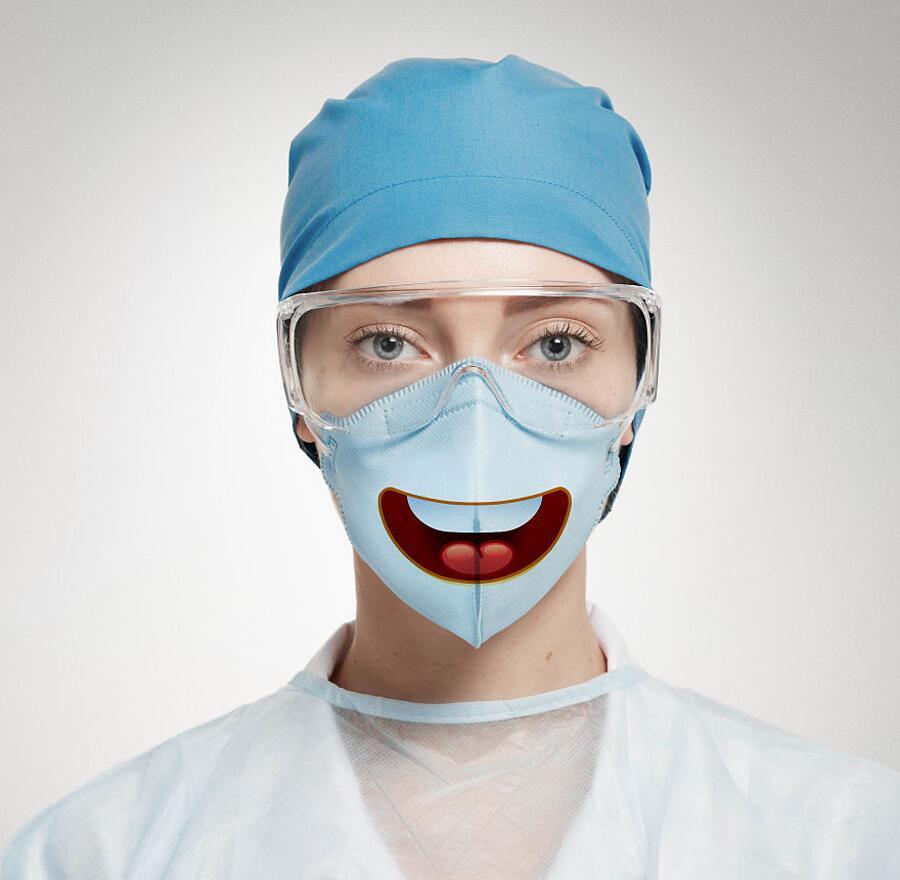 Mascherine Chirurgine Decorate Divertenti Jyo John Mulloor