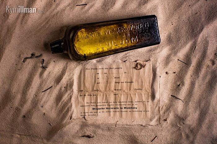 Messaggio Più Antico Ritrovato In Bottiglia Kym Illman