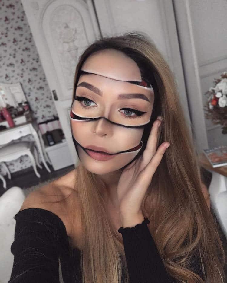 Trucco effetti speciali, make-up Monika Falčik