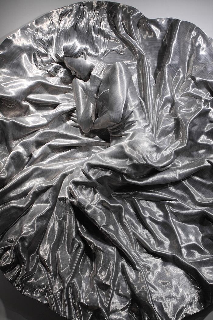 Sculture In Alluminio Seung Mo Park
