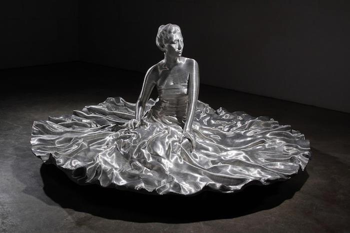 Incredibili sculture in filo di alluminio di Seung Mo Park