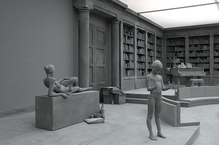 Sculture Figurative Realistiche Hans Op de Beeck