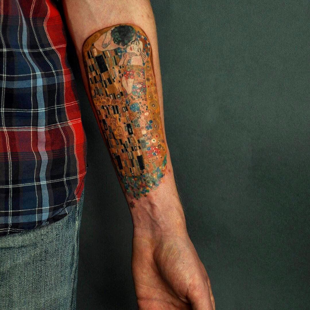 Tatuaggi Ispirati Ad Opere D'Arte Gustav Klimt