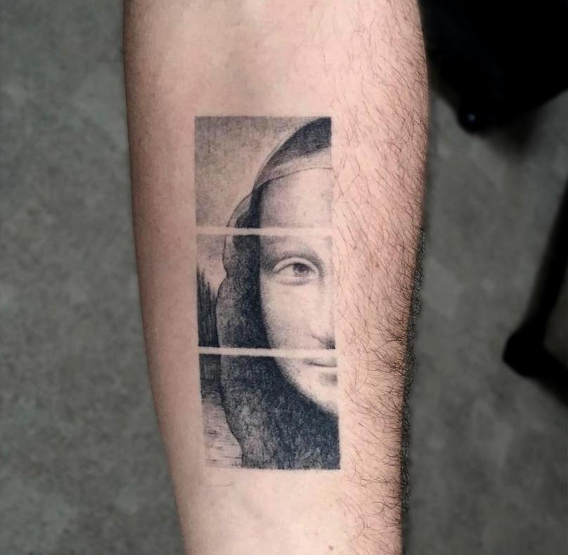 Tatuaggi Ispirati Ad Opere D'Arte Leonardo Da Vinci