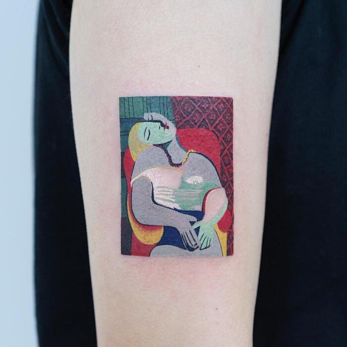 Tatuaggi Ispirati Ad Opere D'Arte Pablo Picasso